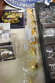 Sale 8405 - Lot 2304 - 8 Gold Plated Plumbobs