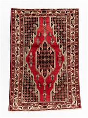 Sale 8800C - Lot 159 - A Persian Hamadan Hand Knotted Wool Pile Rug, 130 x 160cm