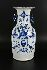 Sale 3803 - Lot 794 - A LARGE BLUE AND WHITE DOUBLE HANDLED VASE