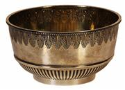Sale 7988 - Lot 48 - English Hallmarked Sterling Silver Victorian Bowl