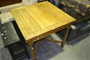 Sale 8046 - Lot 1073 - Timber Extension Dining Table