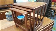 Sale 8383 - Lot 1050 - G-Plan Teak Nest of Three Tables