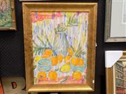 Sale 8417T - Lot 2013 - Edna Garran-Brown - Oranges and Lemons 60 x 44cm