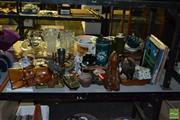 Sale 8548 - Lot 2383 - Sundries incl Records, Clocks, Villeroy & Boch Wall Hangings