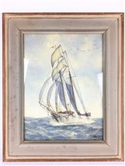 Sale 8607R - Lot 71 - H. Macintosh - Watercolour (39.5 x 29.5cm)