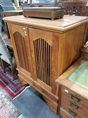 Sale 8740 - Lot 1363 - Timber Cabinet with Two Doors