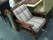 Sale 7933A - Lot 1180 - Bamboo Framed Armchairs