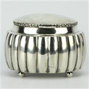 Sale 8169 - Lot 43 - Austro-Hungarian Silver 800 Standard Lidded Box