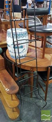 Sale 8532 - Lot 1092 - Tall Metal Pot Stand