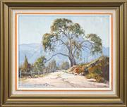 Sale 8548 - Lot 2026 - Doug Sealy (1937 - ) - Roadside Gum 37 x 44.5cm