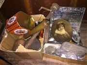 Sale 8659 - Lot 2453 - Collection of Wares incl Tin of Cutlery, Tins, Photos etc