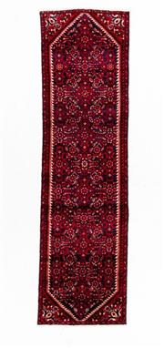 Sale 8800C - Lot 161 - A Persian Hussainabad Hand Knotted Wool Hall Way Runner, 75 x 270cm