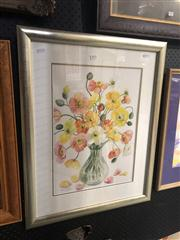 Sale 8824 - Lot 2074 - Helen D Mears - Still Life Poppies, 2008, watercolour, frame size: 72 x 57cm, signed