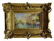 Sale 8891H - Lot 15 - ARTIST UNKNOWN - EUROPEAN SCHOOL - The Grand Canal, Venice 20.0 x 32.0cm