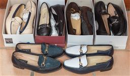 Sale 9120H - Lot 278 - Six pairs of ladies shoes approx size 38 1/2 to 39,