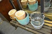 Sale 8115 - Lot 1083 - Collection of 6 Planters