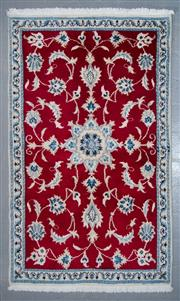 Sale 8545C - Lot 89 - Persian Nain 150cm x 90cm