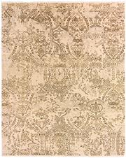 Sale 8815A - Lot 62 - A Cadrys Indian Fading Damask Design in Wool & Silk, 305 x 239cm