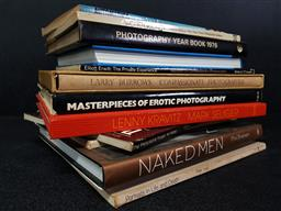 Sale 9254 - Lot 2038 - Collection of Mostly Photographic Books incl. Women See Men, ed. Y. Kalmus, Ripp, R. & C. Wiesenfield; Masterpieces