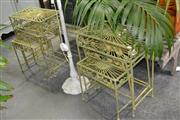 Sale 8046 - Lot 1059 - 2 Nests Of Three Tables