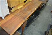 Sale 8066 - Lot 1052 - Draw Leaf Dining Table on Cabriole Legs