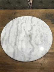 Sale 8724 - Lot 1080 - Marble Top (60cm)