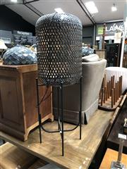 Sale 8854 - Lot 1091 - Metal  Lamp on Stand