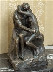 Sale 8908H - Lot 7 - After AUGUSTE RODIN - The Kiss