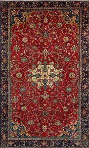 Sale 8345C - Lot 65 - Persian Kashan 198cm x 325cm
