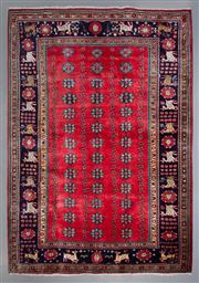 Sale 8545C - Lot 91 - Persian Huseinabad 217cm x 152cm