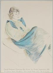 Sale 8888 - Lot 2086 - After David Hockney (1937 - ) - Seated Woman 90.5 x 65cm