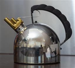 Sale 9165H - Lot 164 - A stove top Kettle with brass spout