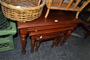 Sale 8013 - Lot 1268 - Timber Nest of Tables