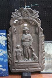 Sale 8362 - Lot 284 - Carved Timber Wall Hanging