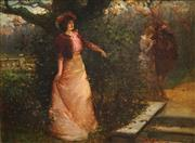 Sale 8475 - Lot 548 - Alexander Rosell (1859 - 1922) - Untitled, 1901 44 x 59.5cm