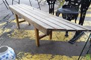 Sale 8532 - Lot 1227 - Timber Two Seater Bench