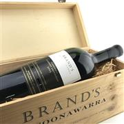 Sale 8875 - Lot 666 - 1x 2003 Brands of Coonawarra Cabernet Sauvignon, Cooonwarra - 3000ml double magnum in timber box