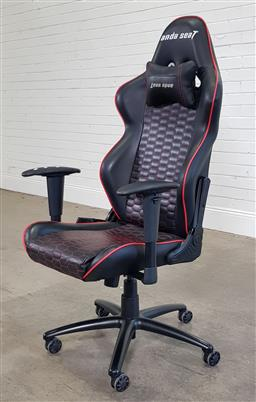 Sale 9188 - Lot 1242 - Anda Seat gaming chair (h:133 x w:66 x d:53cm)