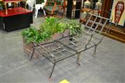 Sale 7987A - Lot 1201 - Folding Metal Daybed