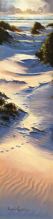 Sale 8693A - Lot 5004 - Robyn Collier (1949 - ) - Beach Track in the Sand Dunes 68.5 x 17cm