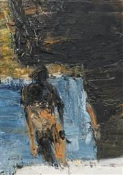 Sale 8722A - Lot 5036 - Euan MacLeod (1956 - ) - Bondi Steps, 1992 46 x 32cm