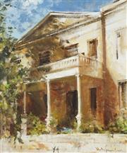 Sale 8732A - Lot 5062 - Molly Johnson - Elizabeth Bay House 61 x 51cm