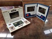 Sale 8741 - Lot 1079A - Nintendo Game & Watch Multi Screen Hand Held Games x 2 inc Oil Panic and Rain Shower (oil panic missing battery cover)