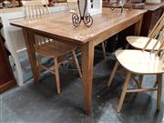 Sale 8777 - Lot 1088 - Recycled Elm Dining Table