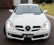 Sale 8782A - Lot 7 - A 2008 Mercedes SLK 350 Convertible in white Rego til May 27th 2020, Please note new numberplate CU77GR   Odometer 99972kms. Autom...