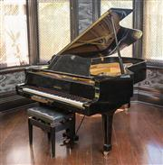 Sale 8222 - Lot 60 - A Yamaha concert grand piano, D 223cm C7 Model, serial number 1843987 Film Provenance; Used for rehearsal for Moulin Rouge and S...