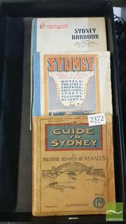Sale 8537 - Lot 2372 - 3 Volumes: Guide to Sydney; Sydney Where to Stay Where to Go Cruise Guide Sydney Harbour