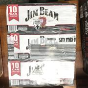 Sale 8801W - Lot 69 - 30x Jim Beam & Cola Cans 4.8%, 375ml