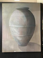 Sale 8865 - Lot 2026 - Jean M. E, Urn oil on canvas