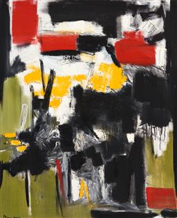 Sale 9214 - Lot 564 - MOKO KHACHATURYAN (1969 - ) Untitled, 2019 oil on canvas 100 x 80 cm signed and dated lower left, inscribed and dated verso